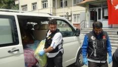 Osmaniyede yorgan içerisinde uyuşturucu sevkiyatı