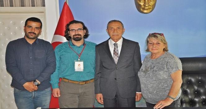 Haykonfed'en Başkan Özdemir'e ziyaret