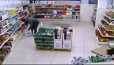 Mama ve peynir hırsızı kamerada