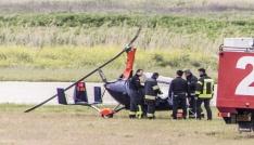 Edremitte helikopter kazası
