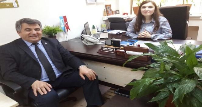 Taş'tan Turhan'a ziyaret