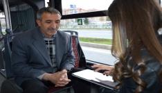 MOTAŞın yaptığı ankete göre halkın yüzde 73ü toplu taşıma hizmetinden memnun