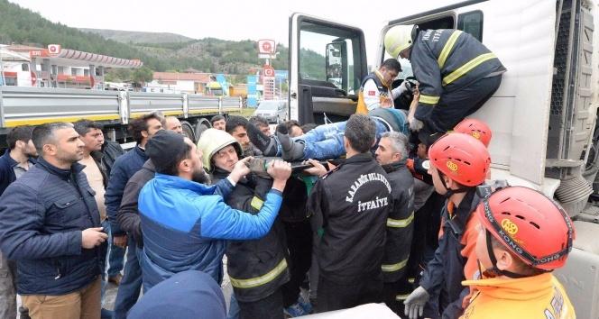 Karabükte trafik kazası: 1 ölü, 3 yaralı