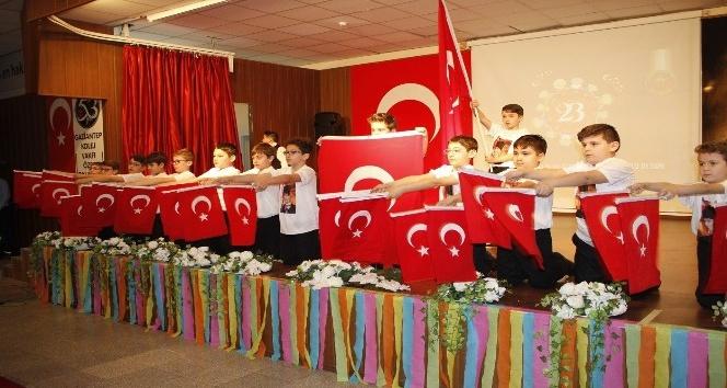 Gaziantep Kolej Vakfı'nda TBMM kuruluşu canlandırıldı