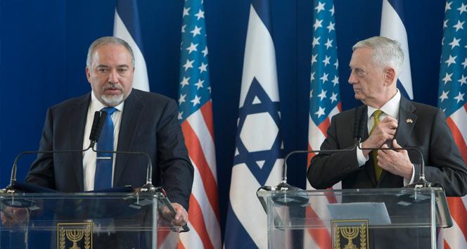 ABD Savunma Bakanı Mattis İsrailde
