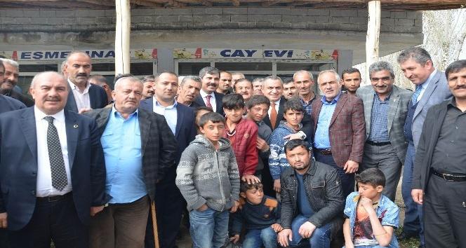 AK Parti'den Türkiye rekoru kıran ilçeye teşekkür ziyareti