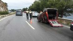Bodrumda trafik kazası 6 yaralı
