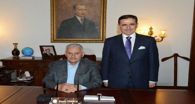 Başbakan Yıldırım Ankara Valiliğini ziyaret etti