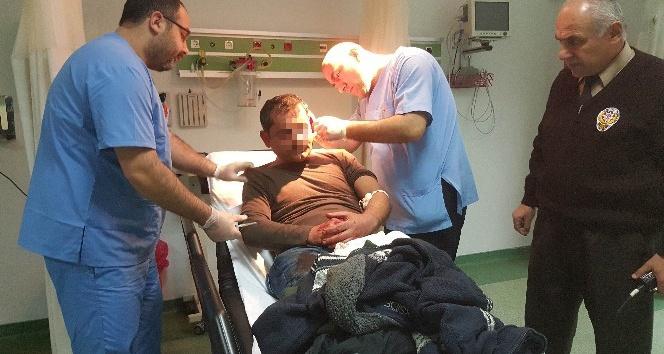 Kardeşlerin kavgasında kan aktı: 2 yaralı