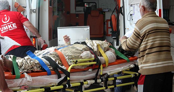 Suriyede yaralanan 4 ÖSO askeri Kilise getirildi