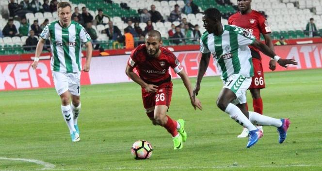Spor Toto Süper Lig: Atiker Konyaspor: 1 - Gaziantespor: 2 (Maç sonucu)