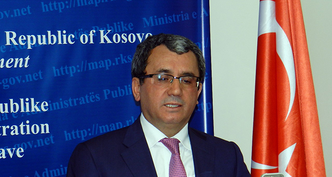 Dışişleri Bakan Yardımcısı Ahmet Yıldız, Kosovada
