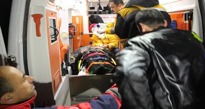 Kastamonu'da hastaneden dönen kamyonet, dereye uçtu: 1 Ölü, 2 Yaralı
