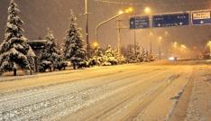 Uşaka Meteorolojiden kar yağışı uyarısı