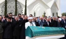 Cumhurbaşkanı Erdoğan, cenaze törenine katıldı
