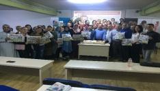 Adana Bölge çalışanları, Türkiye gazetesinin 48. yılını kutladı