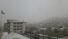 Ankarada nisan karı sürprizi