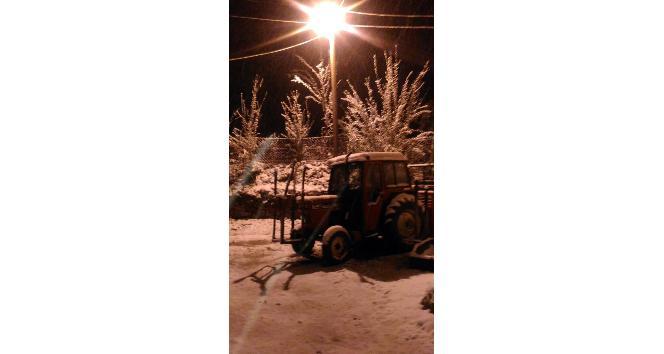 Dursunbeyde Kar Yağışı