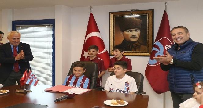 Trabzonsporda 23 Nisan etkinliği yapıldı