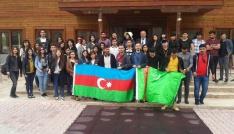 Turizm Haftasında Türki Cumhuriyetine mensup öğrencilere Malatya turu yaptırıldı