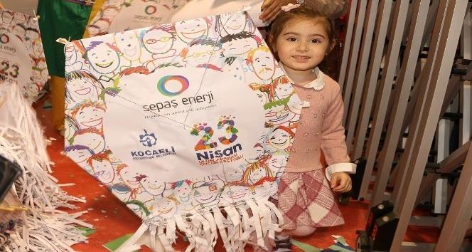 Sepaş Enerjinin uçurtma hediyesi, çocukları sevindirdi