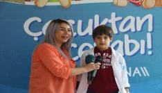 Sağlıkla ilgili soruları çocuklar cevapladı