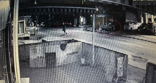 Domates hırsızları güvenlik kamerasına yakalandı