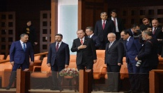 Cumhurbaşkanı Erdoğan: Tartışmalar üzerine değil, barış üzerine bina edin
