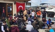 Çanakkalede 51 kaçak yakalandı