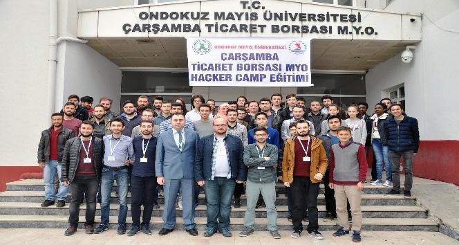 OMÜ hacker kampa ev sahipliği yaptı