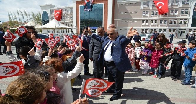 23 Nisan Ulusal Egemenlik ve Çocuk Bayramı Kırşehirde coşku ile kutlandı