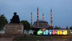 Selimiye Camiinde Miraç Kandili coşkusu