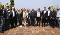 Mersinli gazeteciler GAÜ'ye hayran kaldı