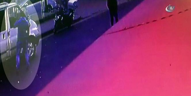 Ekmek arabasından para çalan hırsız kamerada
