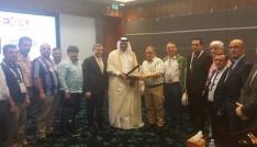 Trabzonlu mobilya firmaları Katarda fuara katıldı