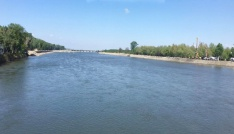 (Özel Haber) Meriç Nehrinin su debisi arttı