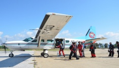 Türk Hava Kurumu amatör paraşütçüleri Efeste buluşturdu