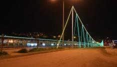 Görele Köprüsü ışıklandırıldı