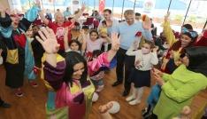 Onkoloji ve Hematoloji hastası çocuklar bayramı doyasıya yaşadı