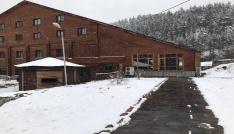 Ilgazda kayak merkezinde Nisan karı 10 santimi buldu
