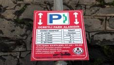 Bitliste parkomat sistemine geçildi