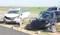 Cizrede trafik kazası: 1 ölü, 5 yaralı
