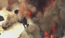 ABDde üniversite yakınında yangın