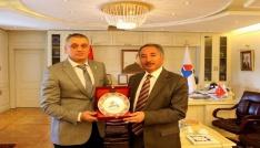 Türkiye Sualtı sporları Federasyon Başkanı AİÇÜde