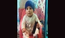 Uyurken üzerine beton parçası düşen Suriyeli bebek yaralandı