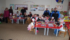 Yukarı Küpkıranda Polis Haftası Kutlaması