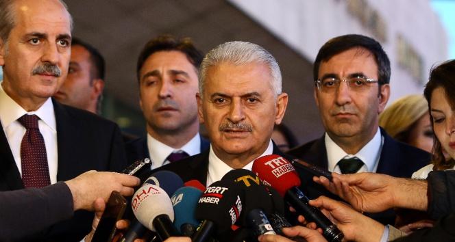 Başbakan Yıldırımdan AKPMnin Türkiye kararına sert tepki