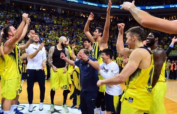 Fenerbahçe, üst üste 3. kez Final-Four'da
