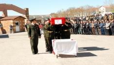 Ağrılı şehit için Bitliste tören düzenlendi