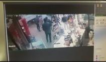 Bursa'da cinayet anı kamerada!